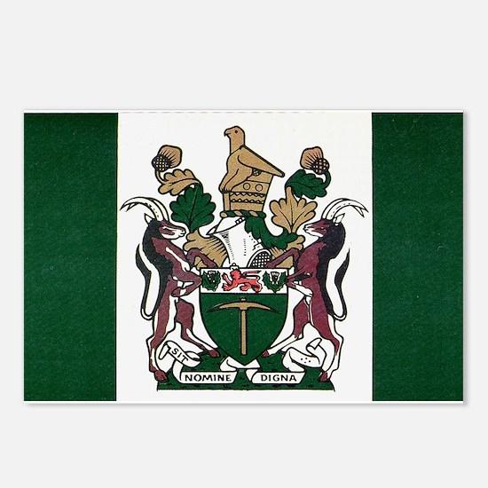 Rhodesia Flag Postcards (Package of 8)