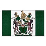 Rhodesia Flag Sticker (Rectangle 50 pk)
