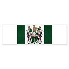 Rhodesia Flag Bumper Sticker