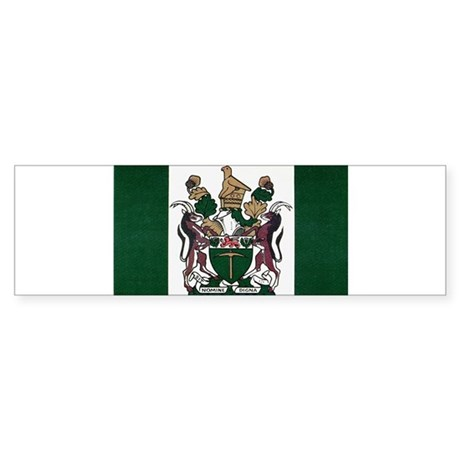 Rhodesia Flag Sticker (Bumper)