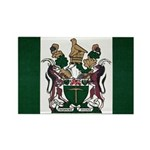Rhodesia Flag Rectangle Magnet (100 pack)