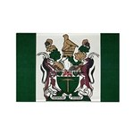 Rhodesia Flag Rectangle Magnet