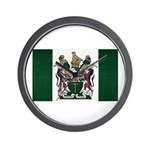 Rhodesia Flag Wall Clock