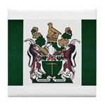 Rhodesia Flag Tile Coaster