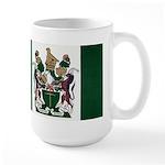 Rhodesia Flag Large Mug