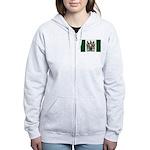 Rhodesia Flag Women's Zip Hoodie