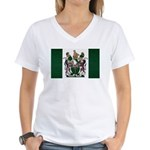 Rhodesia Flag Women's V-Neck T-Shirt