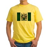 Rhodesia Flag Yellow T-Shirt