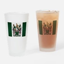 Rhodesia Flag Drinking Glass