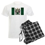 Rhodesia Flag Men's Light Pajamas