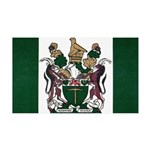 Rhodesia Flag 35x21 Wall Decal