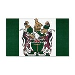 Rhodesia Flag 20x12 Wall Decal