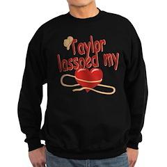 Taylor Lassoed My Heart Sweatshirt