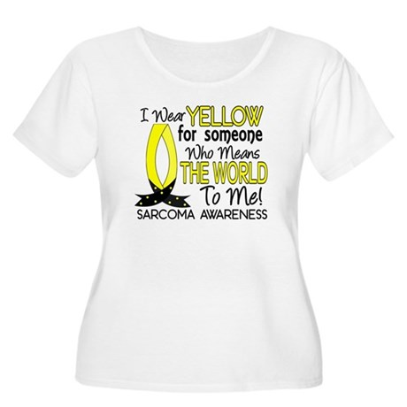 Means World To Me 1 Sarcoma Women's Plus Size Scoo