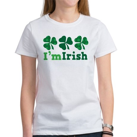I'm Irish St Patrick's Couple Women's T-Shirt