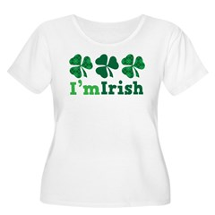 I'm Irish St Patrick's Couple T-Shirt
