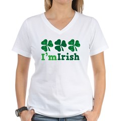 I'm Irish St Patrick's Couple Shirt