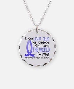 Means World To Me 1 Prostate Cancer Shirts Necklac