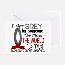Means World To Me 1 Parkinson's Disease Shirts Gre