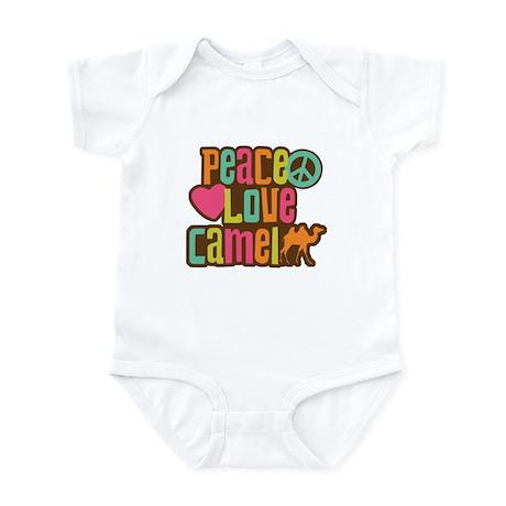 Peace love Camel Infant Bodysuit