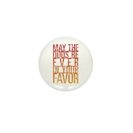 May The Odds Mini Button (10 pack)