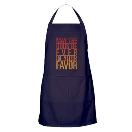 May The Odds Apron (dark)