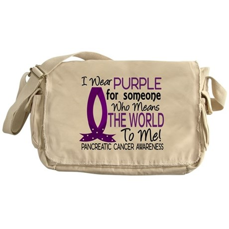 Means World To Me 1 Pancreatic Cancer Shirts Messe