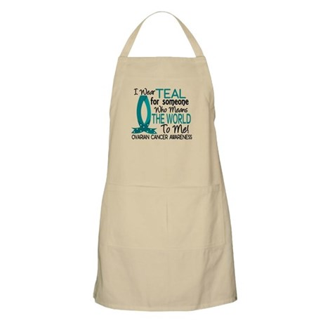 Means World To Me 1 Ovarian Cancer Shirts Apron
