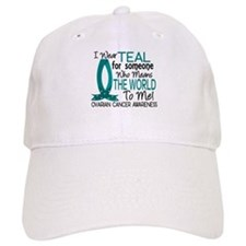 Means World To Me 1 Ovarian Cancer Shirts Baseball Baseball Cap