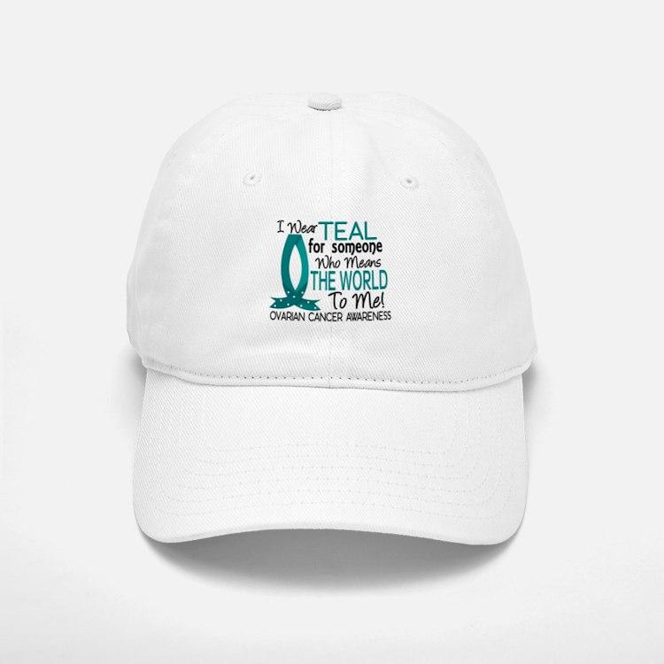 Means World To Me 1 Ovarian Cancer Shirts Baseball Baseball Cap