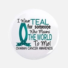 "Means World To Me 1 Ovarian Cancer Shirts 3.5"" But"