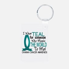 Means World To Me 1 Ovarian Cancer Shirts Keychains