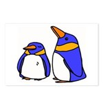 Cute Penguins Cartoon Postcards (Package of 8)