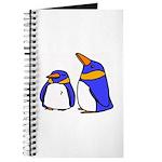 Cute Penguins Cartoon Journal