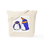 Cute Penguins Cartoon Tote Bag