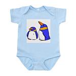 Cute Penguins Cartoon Infant Creeper
