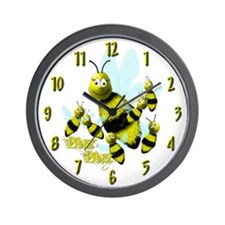 BuzBuz the Bee Wall Clock