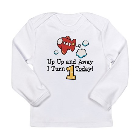 PlaneBday1 Long Sleeve T-Shirt