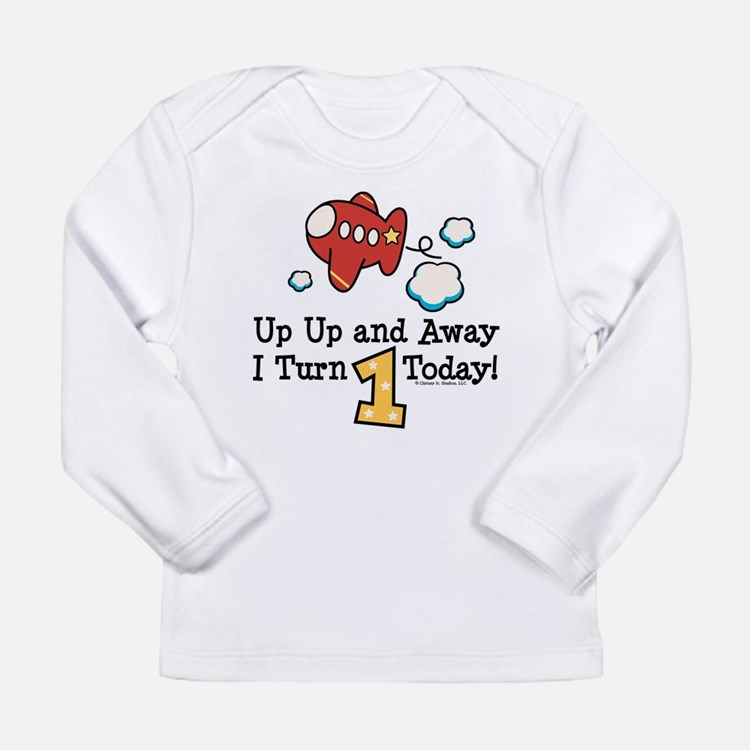 PlaneBday1 Long Sleeve T-Shirt