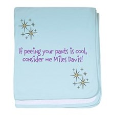 Cute Davis baby blanket