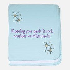 Funny Davis baby blanket