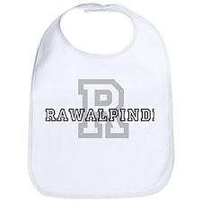 Letter R: Rawalpindi Bib