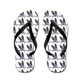 Boston terrier Flip Flops