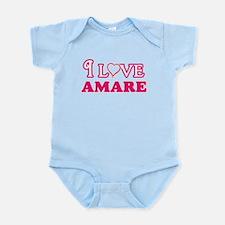 I Love Amare Body Suit