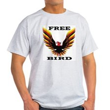 Free Bird Ash Grey T-Shirt