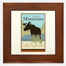 Travel Minnesota Framed Tile
