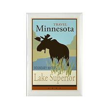 Travel Minnesota Rectangle Magnet