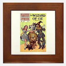The Wizard of Oz Framed Tile
