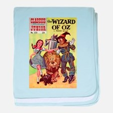 The Wizard of Oz baby blanket