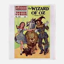 The Wizard of Oz Throw Blanket